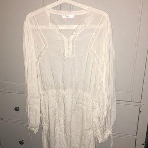 Anine Bing Plisse dress